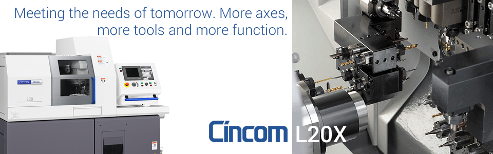 Cincom L20X Slider